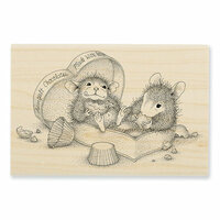 Stampendous - House Mouse Designs - Wood Mounted Stamps - Heartfelt Chocolates