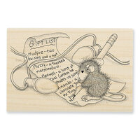 Stampendous - Christmas - House Mouse Designs - Wood Mounted Stamps - Light Note