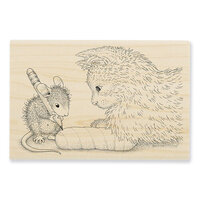 Stampendous - House Mouse Designs - Wood Mounted Stamps - Kitten Cast