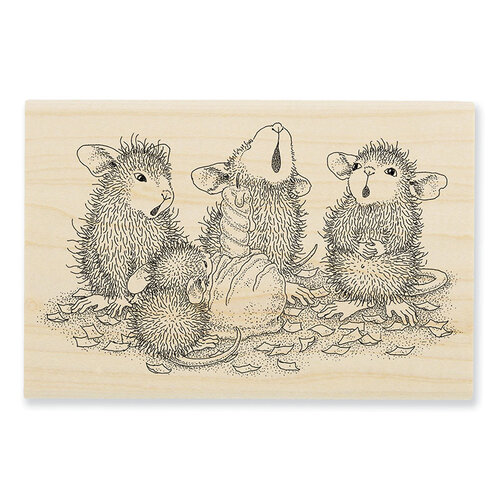 Stampendous - House Mouse Designs - Wood Mounted Stamps - Bon Bon Birthday