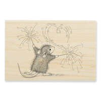 Stampendous - House Mouse Designs - Wood Mounted Stamps - Sparkler Art