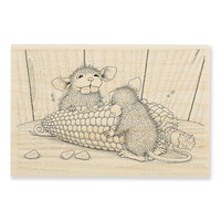 Stampendous - Wood Mounted Stamps - Corn Toothed