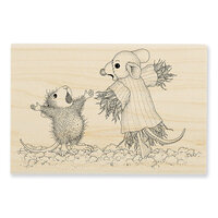 Stampendous - Halloween - Wood Mounted Stamps - Scarecrow Copier