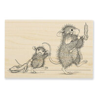 Stampendous - Wood Mounted Stamps - Bedtime Babies