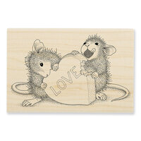 Stampendous - Wood Mounted Stamps - Love Treat