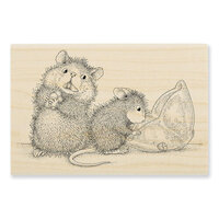 Stampendous - House Mouse Designs - Wood Mounted Stamps - Missing Treats
