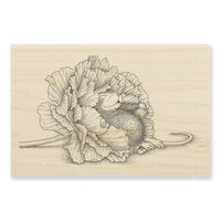 Stampendous - House Mouse Designs - Wood Mounted Stamps - Dream Flower
