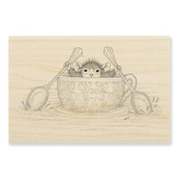 Stampendous - House Mouse Designs - Wood Mounted Stamps - Teacup Paddler