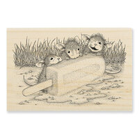 Stampendous - House Mouse Designs - Wood Mounted Stamps - Cool Treat
