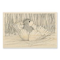 Stampendous - House Mouse Designs - Wood Mounted Stamps - Stream Float