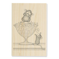 Stampendous - House Mouse Designs - Wood Mounted Stamps - Heart Treats