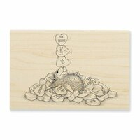 Stampendous - House Mouse Designs - Wood Mounted Stamps - Balancing Hearts