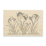 Stampendous - House Mouse Designs - Wood Mounted Stamps - Crocus Nap