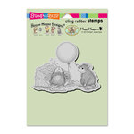 Stampendous - House Mouse Designs - Wood Mounted Stamps - Birthday Mischief