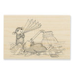 Stampendous - House Mouse Designs - Wood Mounted Stamps - Keeping Cool