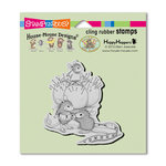 Stampendous - House Mouse Designs - Wood Mounted Stamps - Tiny Tailor