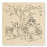 Stampendous - House Mouse Designs - Halloween - Wood Mounted Stamps - Costume Play