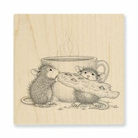 Stampendous - House Mouse Designs - Wood Mounted Stamps - Cookie Crumbles