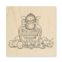 Stampendous - Wood Mounted Stamps - Maraschino Mouse