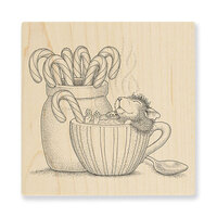 Stampendous - House Mouse Designs - Wood Mounted Stamps - Warm Cocoa
