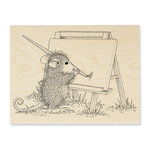 Stampendous - House Mouse Designs - Wood Mounted Stamps - Outdoor Painter