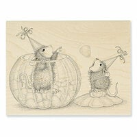 Stampendous - House Mouse Designs - Wood Mounted Stamps - Gumdrop Toss