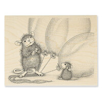 Stampendous - House Mouse Designs - Wood Mounted Stamps - Balloon Buddies