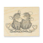 Stampendous - House Mouse Designs - Wood Mounted Stamps - Valentine Kiss