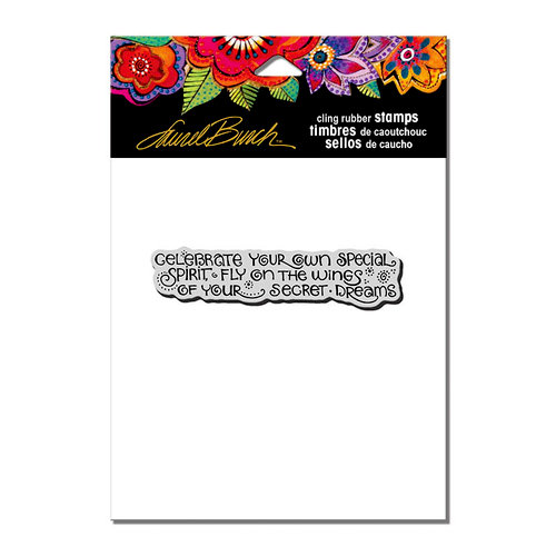 Stampendous - Cling Mounted Rubber Stamps - Celebrate Dreams