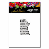 Stampendous - Cling Mounted Rubber Stamps - Listen
