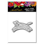 Stampendous - Cling Mounted Rubber Stamps - Dog Tail Run