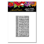 Stampendous - Cling Mounted Rubber Stamps - Fabulous