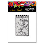 Stampendous - Cling Mounted Rubber Stamps - Sentimental Feline