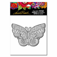 Stampendous - Cling Mounted Rubber Stamps - Flutterbye