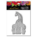 Stampendous - Cling Mounted Rubber Stamps - Giraffes