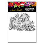 Stampendous - Cling Mounted Rubber Stamps - Mystical Mare