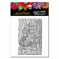 Stampendous - Cling Mounted Rubber Stamps - Mermaid Flow