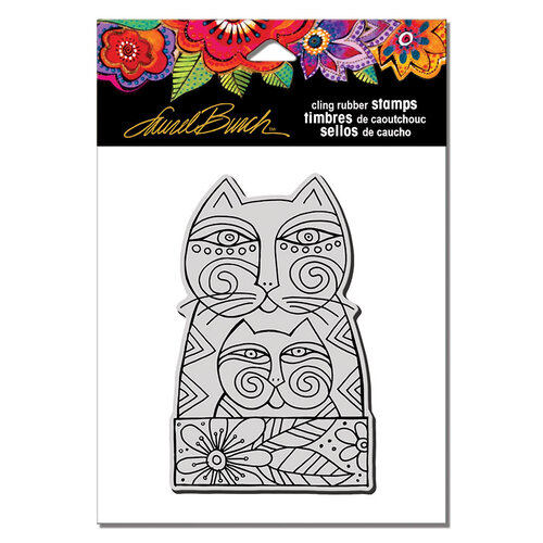 Stampendous - Cling Mounted Rubber Stamps - Feline Love