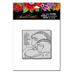 Stampendous - Cling Mounted Rubber Stamps - Aquatic Horses