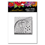 Stampendous - Cling Mounted Rubber Stamps - Horses Heart