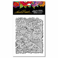 Stampendous - Cling Mounted Rubber Stamps - Whiskers