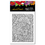 Stampendous - Cling Mounted Rubber Stamps - Carlottas Garden