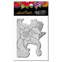 Stampendous - Cling Mounted Rubber Stamps - Hummingbird Blossom