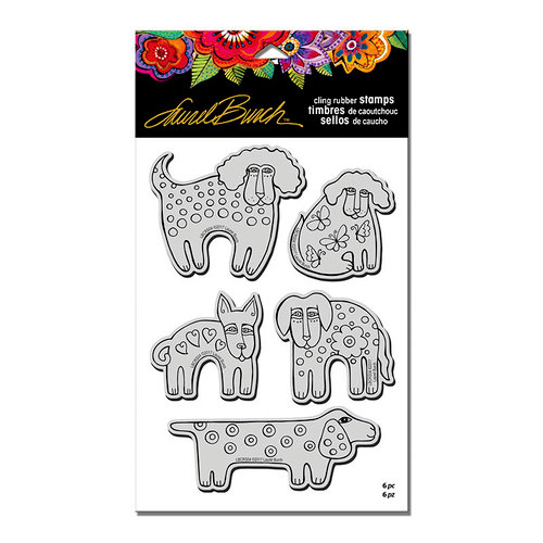 Stampendous - Cling Mounted Rubber Stamps - Dog Park