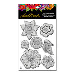 Stampendous - Cling Mounted Rubber Stamps - Blossoms