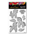 Stampendous - Cling Mounted Rubber Stamps - Magical Horses