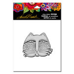 Stampendous - Cling Mounted Rubber Stamps - Feline Face