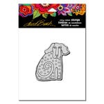 Stampendous - Cling Mounted Rubber Stamps - Dog Tail