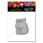 Stampendous - Cling Mounted Rubber Stamps - Zigzag Cats