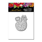Stampendous - Cling Mounted Rubber Stamps - A Happy Heart
